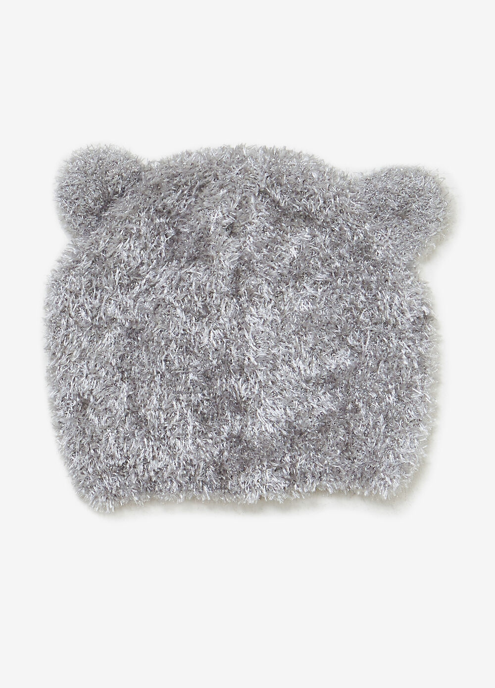 Frayed hat with ears