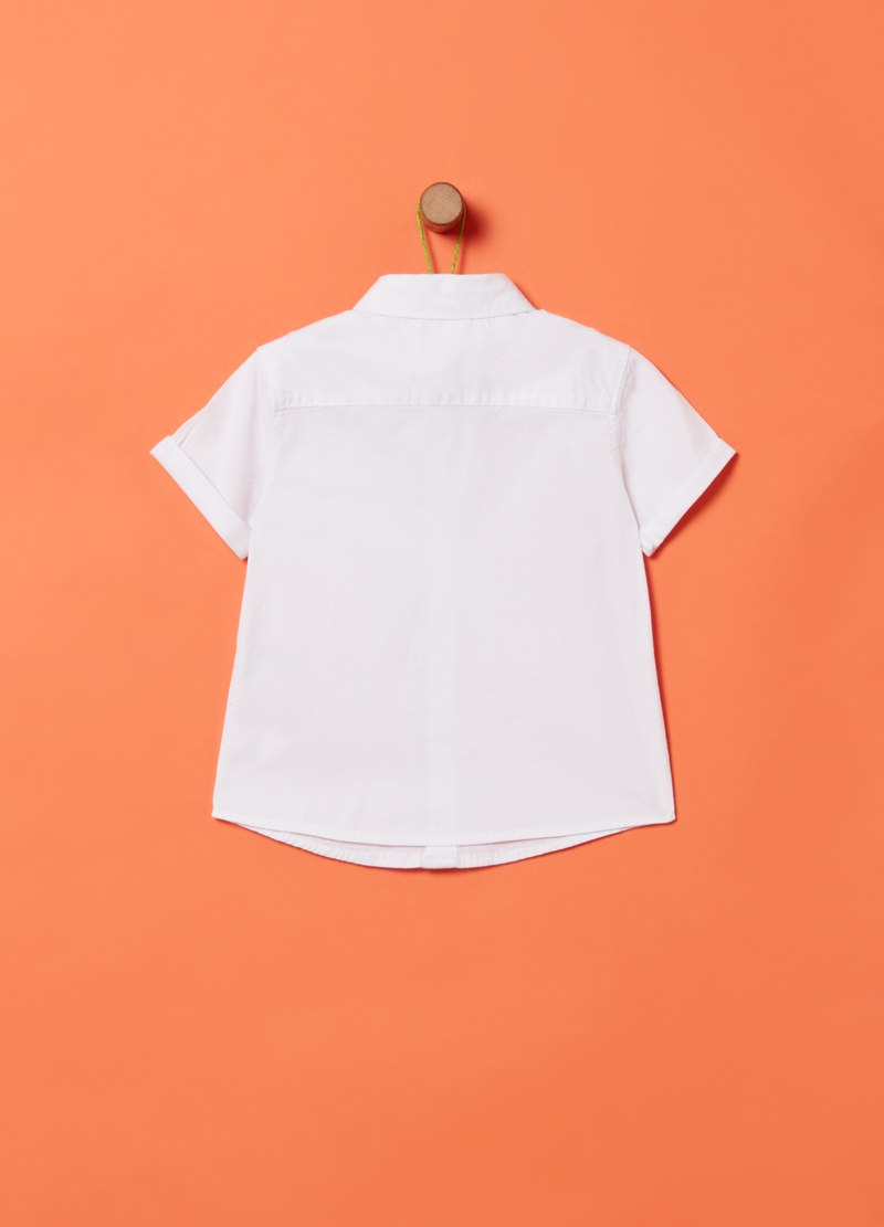 100% organic cotton shirt with pocket image number null