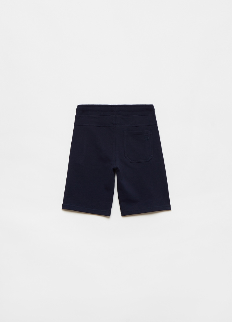 Shorts in French Terry with drawstring image number null