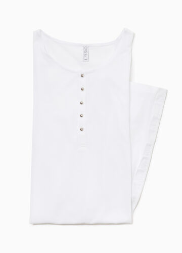 Modal and cotton nightshirt