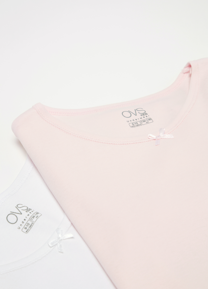 Set due t-shirt intime cotone organico image number null