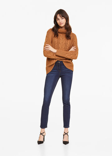Push-up-fit stretch jeans