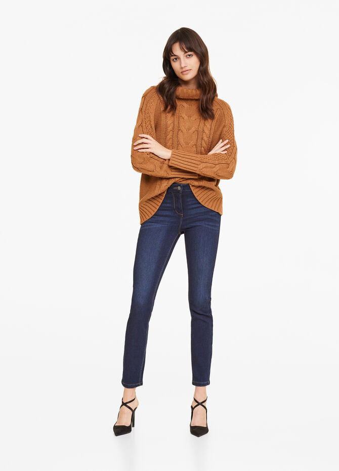 Jeans push up fit stretch