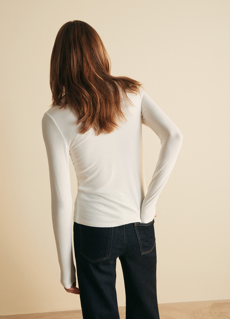 PIOMBO T-shirt a collo alto image number null
