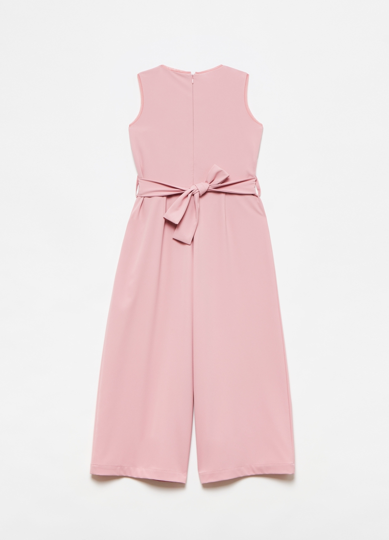 Playsuit with sequins image number null