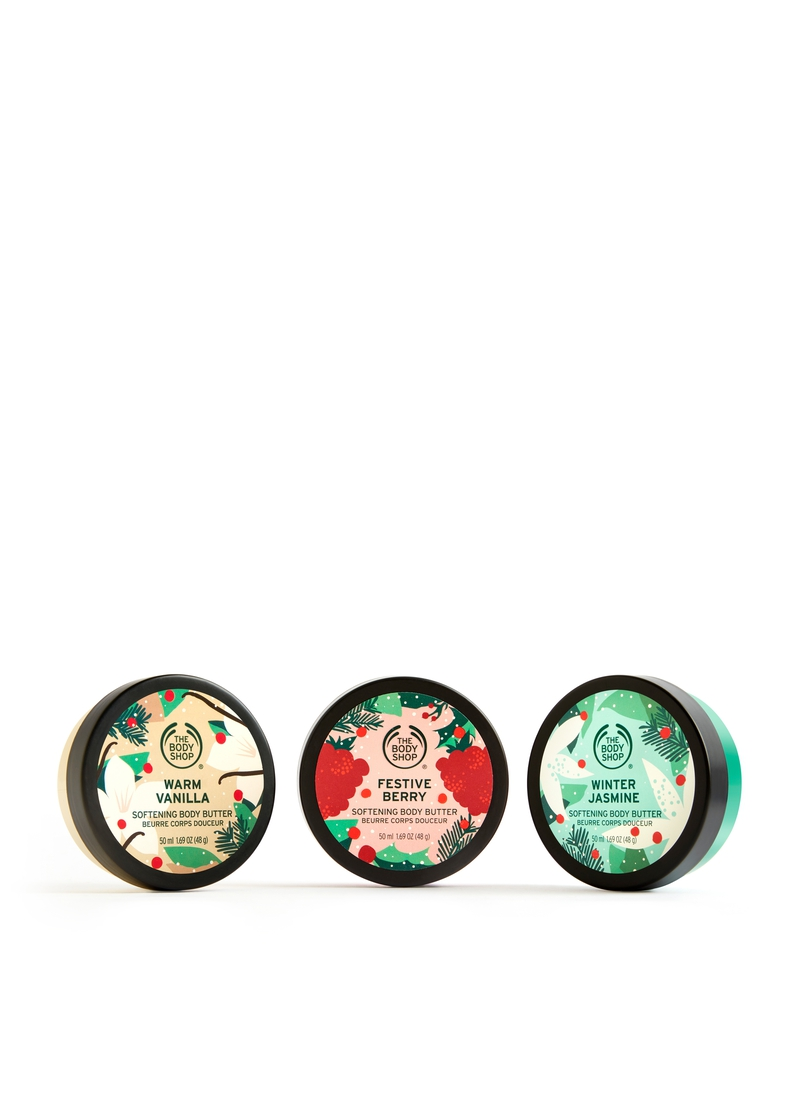 Christmassy Body Butter Trio image number null