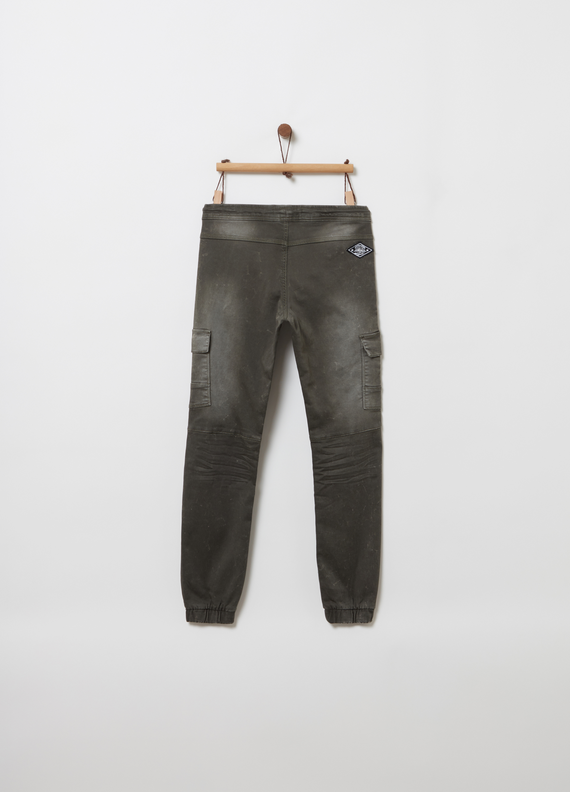 a4eb15e6d465 Comfort-fit cargo-cut chino trousers