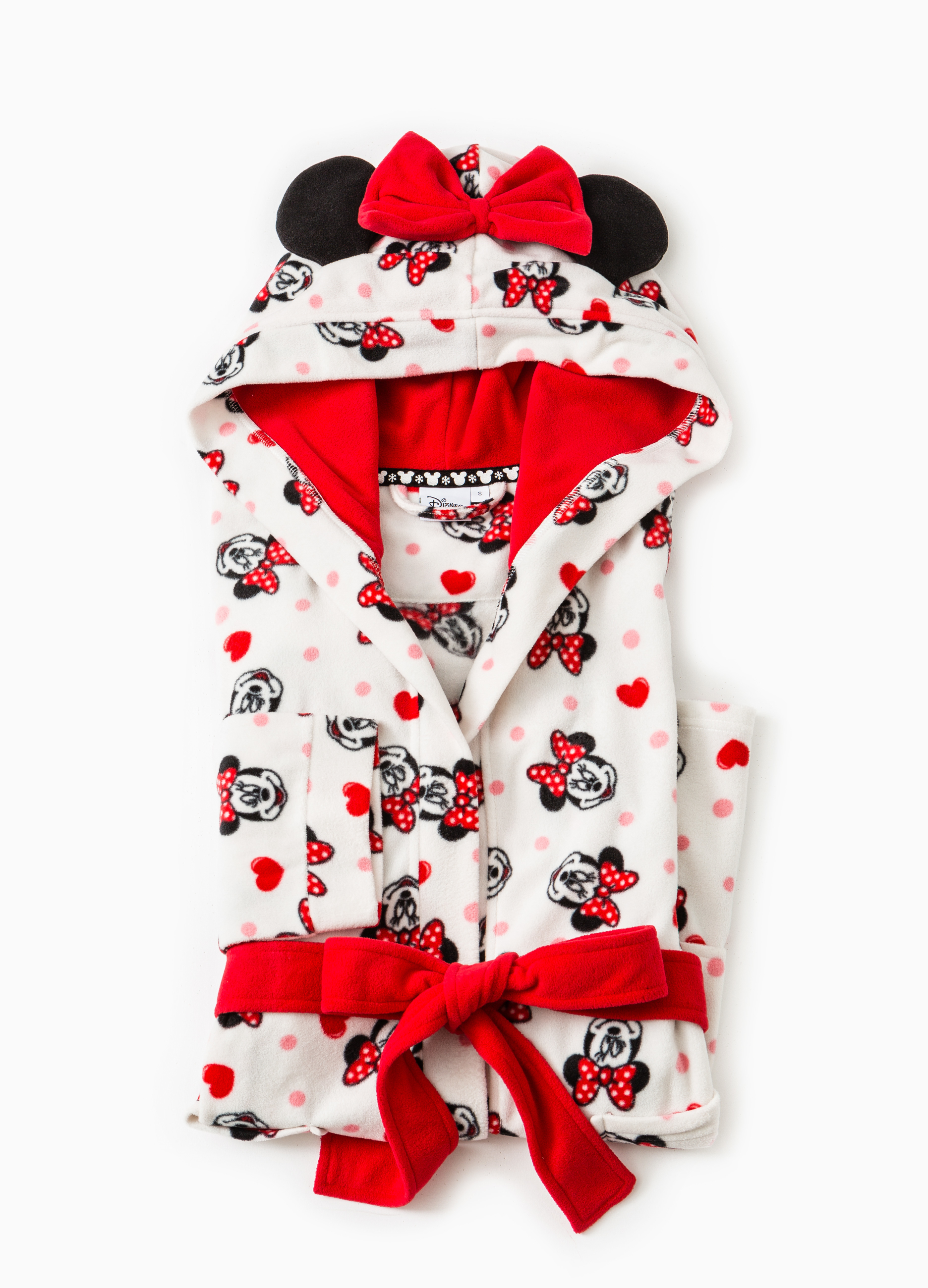 Fleece dressing gown with Minnie mouse print | OVS