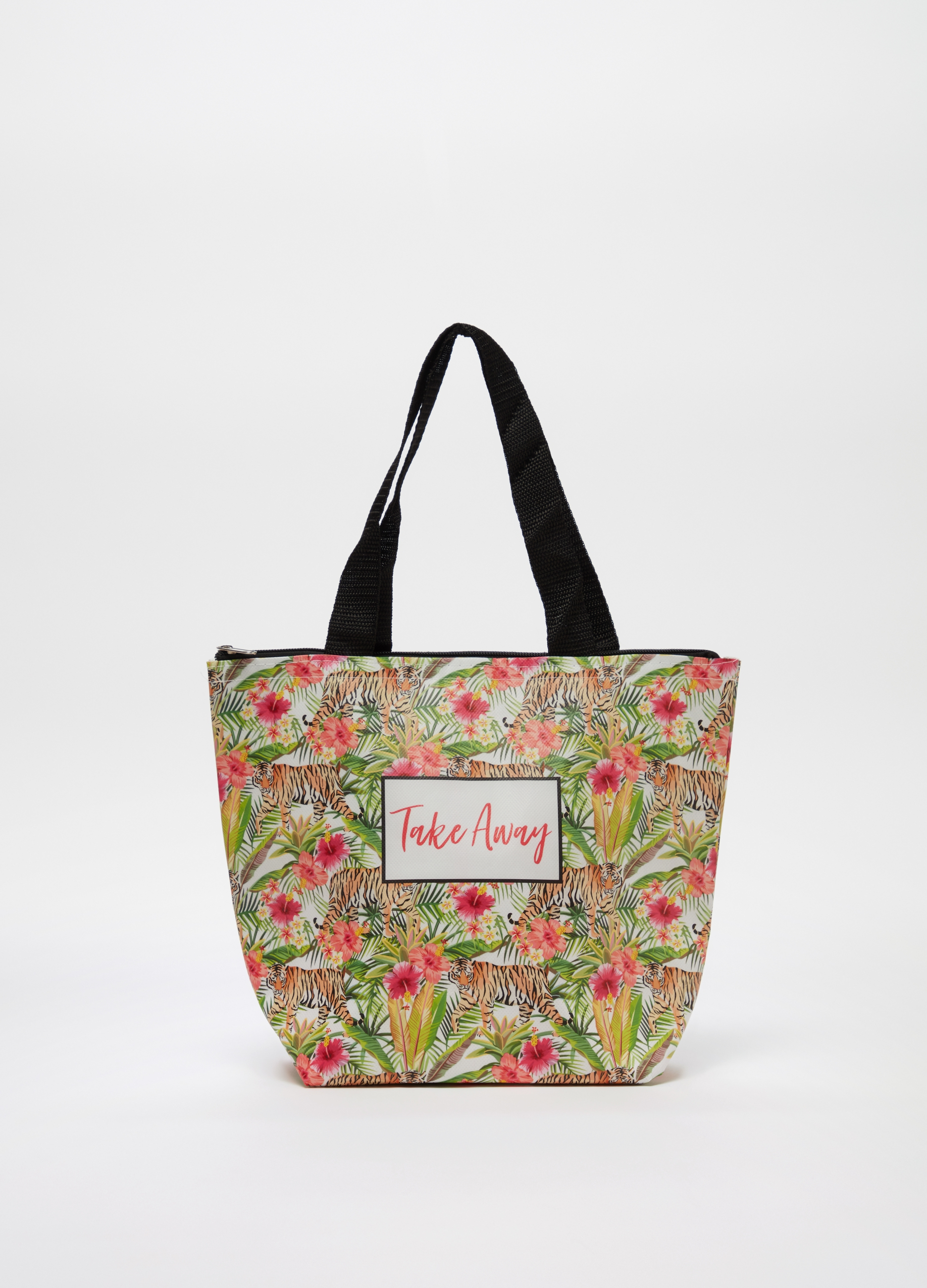 a8d922d1af Lunch tote with zip and pattern | OVS
