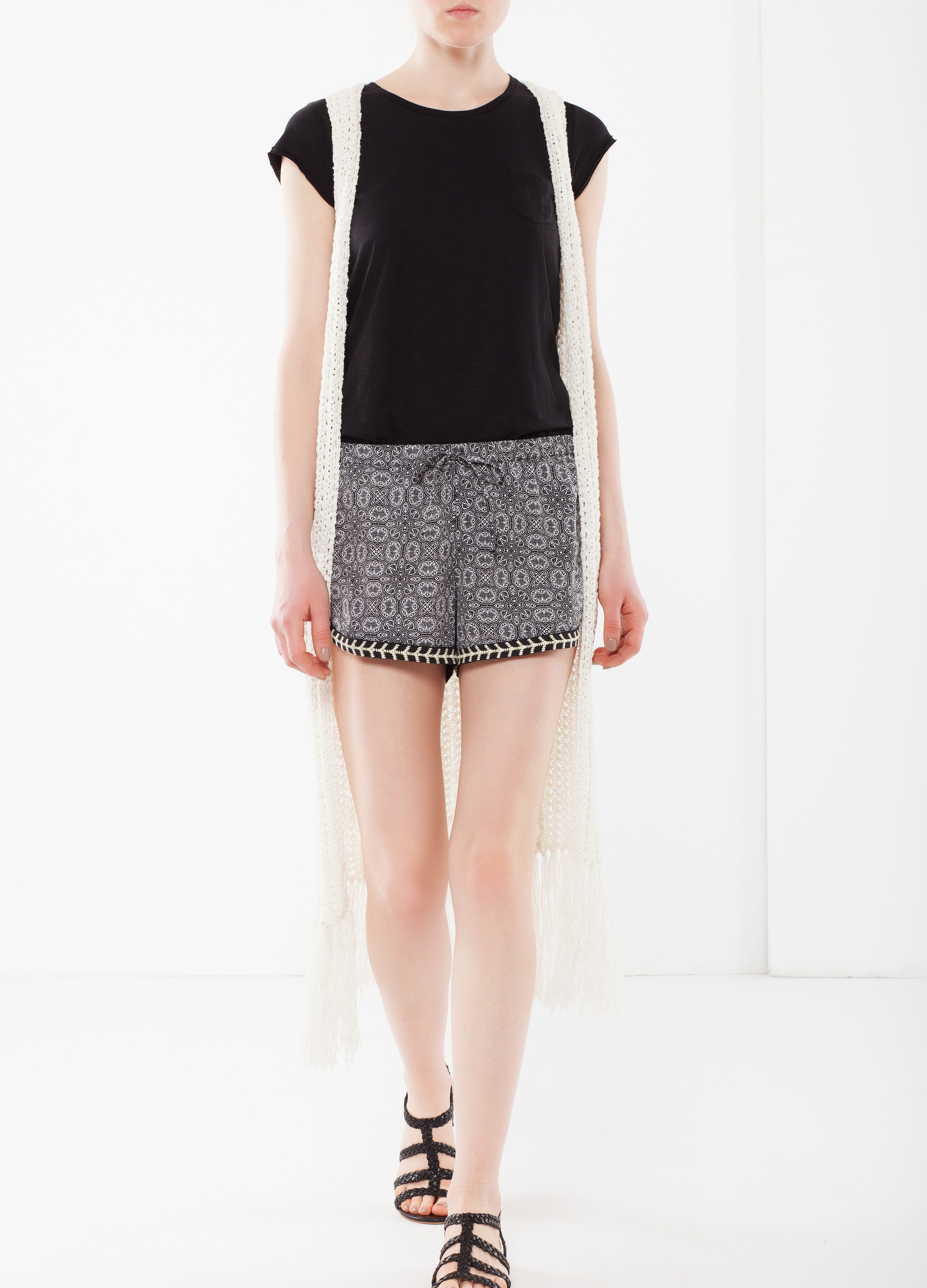 Shorts con coulisse