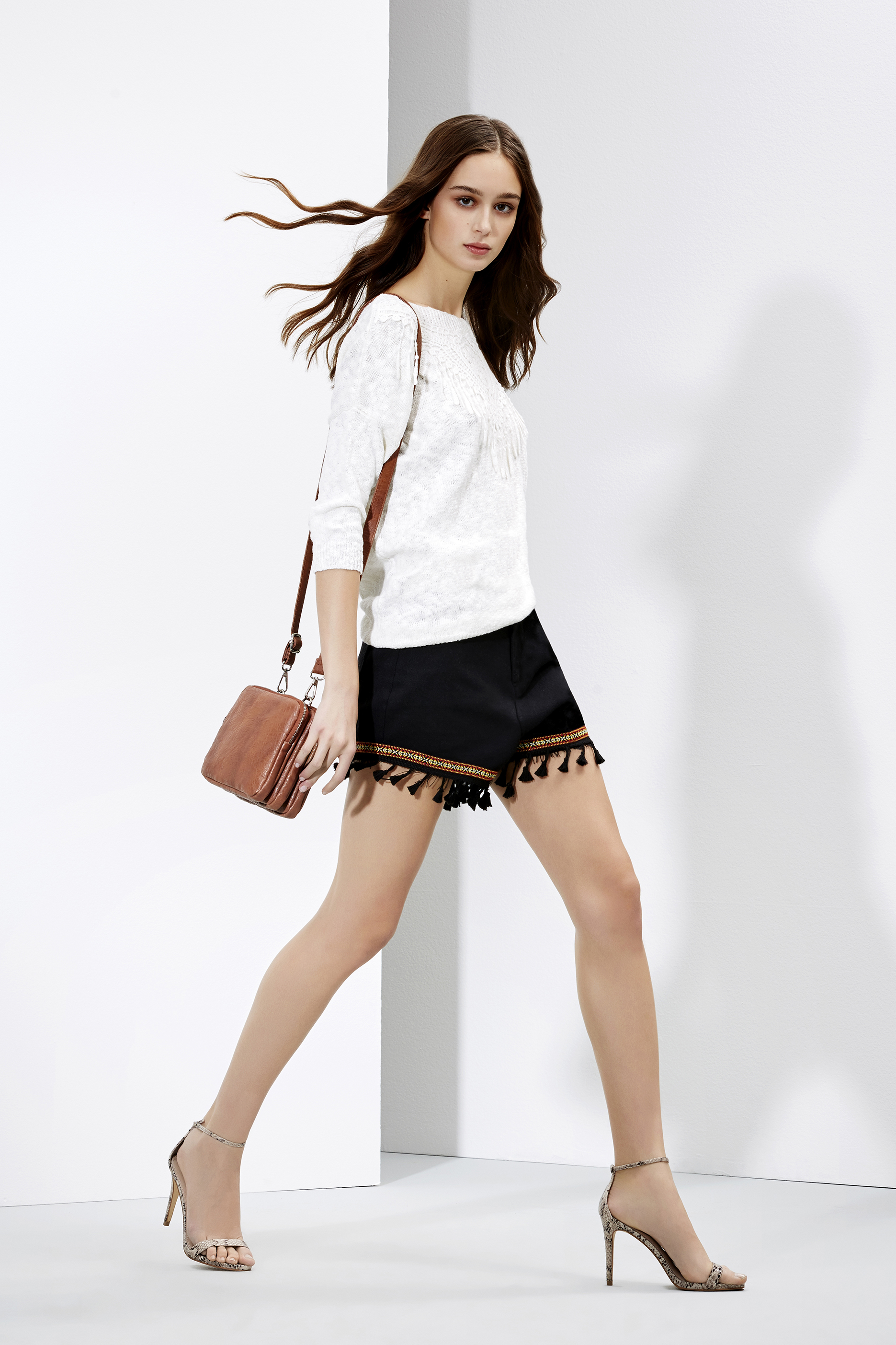 Romantic Mood - ethnic shorts