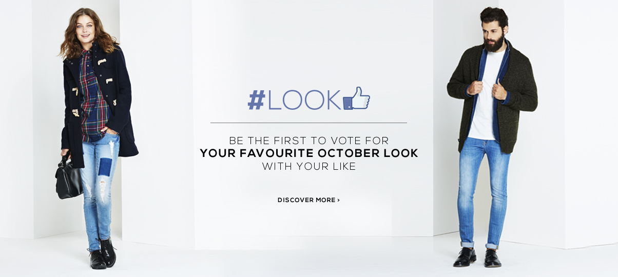 Contest #looklike: be the first to vote for your favourite OVS October look with your like!