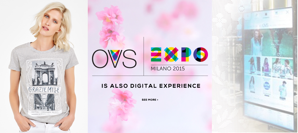 Digital Expo experience by OVS