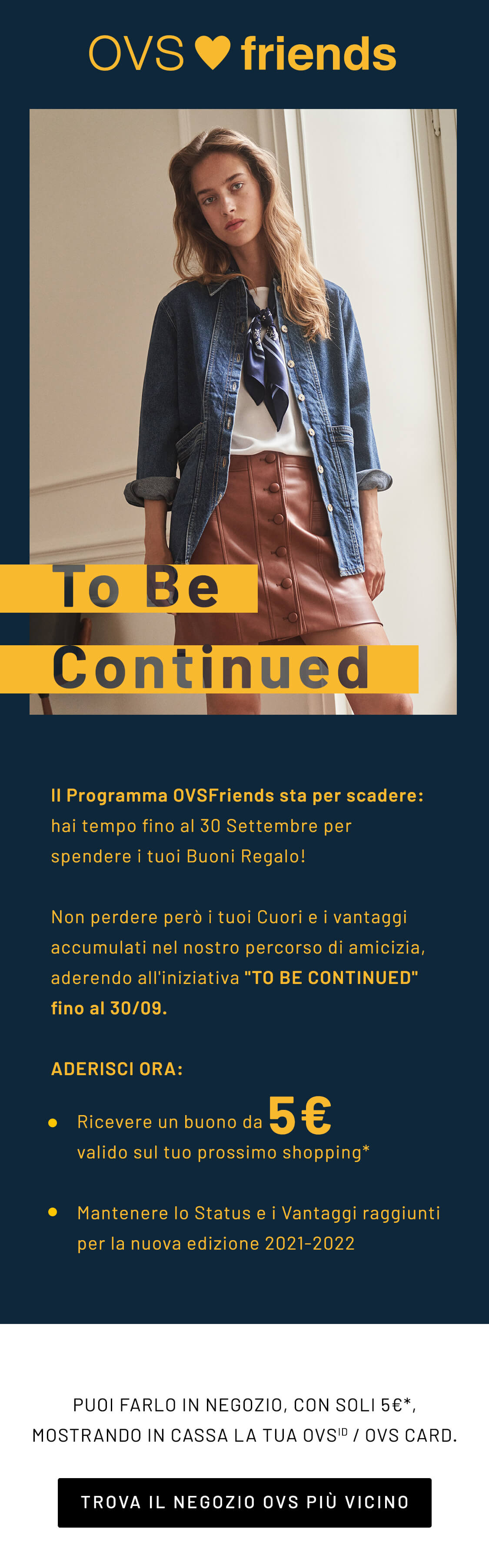 to becontinued ovs